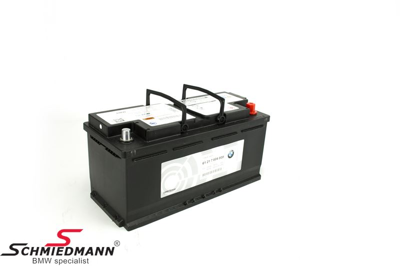 AGM batteri original BMW 105AH