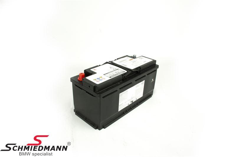 61217604808 Genuine BMW 105AH AGM-Battery 3,5,6,7,8 Series X3,4,5,6,7  Z4