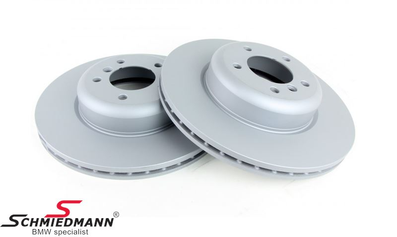 Brake disk set 284X22MM ventilated