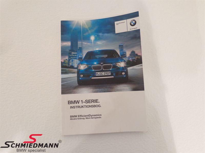 Owner´s handbook danish with iDrive