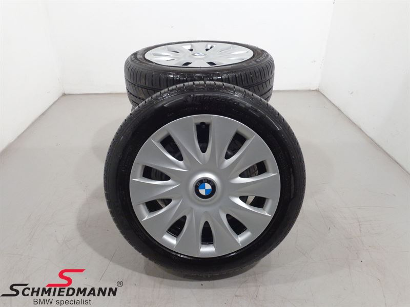 """16"""" BMW Steelwheels with hubcaps"""