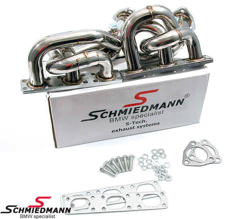 Schmiedmann Fächerkrümmer BMW E36 E39 S-Tech M50/M52