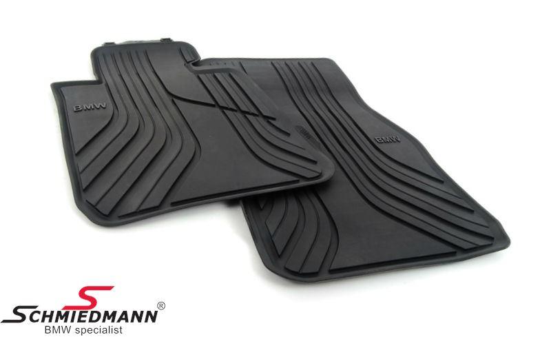 """Fußmatten -Basis- vorne """"Allwetter"""", schwarz - original BMW"""