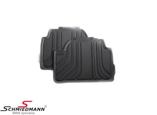 """Fußmatten -Basis- hinten """"Allwetter"""", schwarz - original BMW"""
