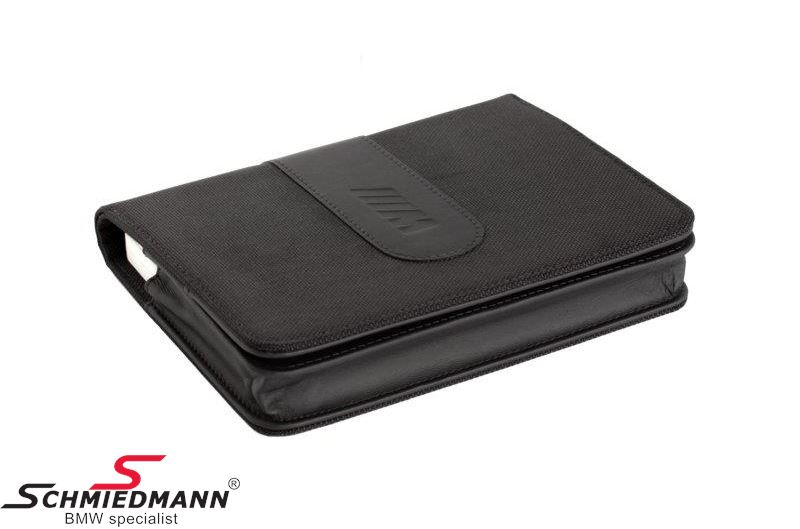 Inspection book holder leather - original BMW ///M