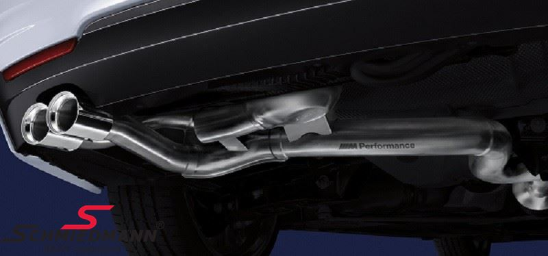 Exhaust system 'Active Sound' original BMW -///M-Performance- (Exhaust tips must be bought separately)
