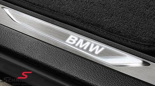 Door sill set (2 pc.) LED Illuminated BMW - original BMW