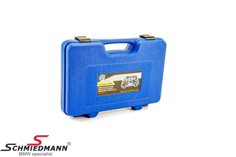 Bakaxelbussning demontering/installering specialverktyg set (Stora kittet som även inkluderar A1087+B1087) (Jobbet kan göras direkt på bilen)