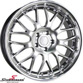 "19"" Rennsport wheel 9,5X19 (with polished stainless steel lip)(fits only rear)"