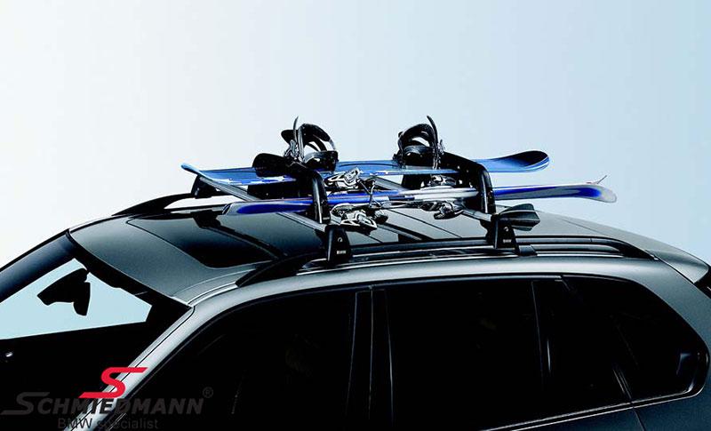 Skiholder sæt til 6 par ski original BMW