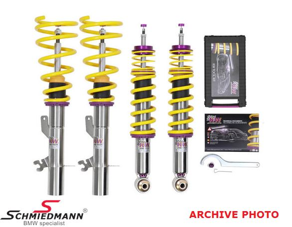 KW V3 Coilovers - Höjd, kompression och rebound justering - 30-60 mm / 20-45 mm
