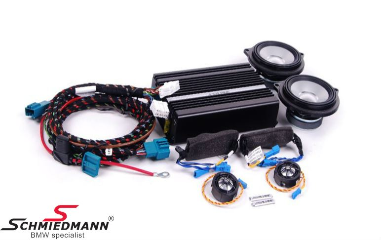 HiFi system Alpine midrange loudspeaker/tweeter/amplifier - Original BMW