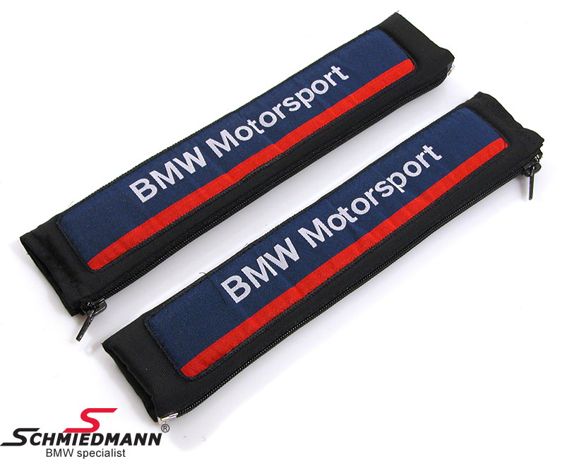 Seat belt pad set BMW Motorsport