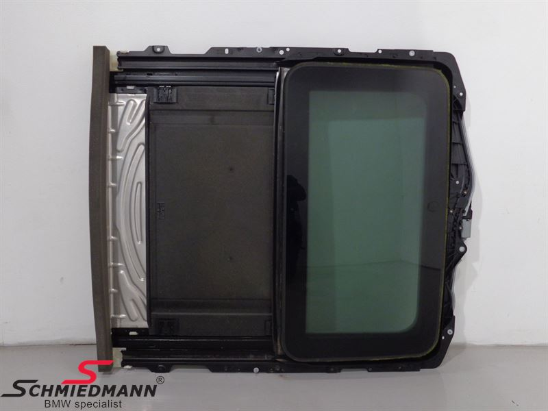 Sunroof Cassette complete glas roof