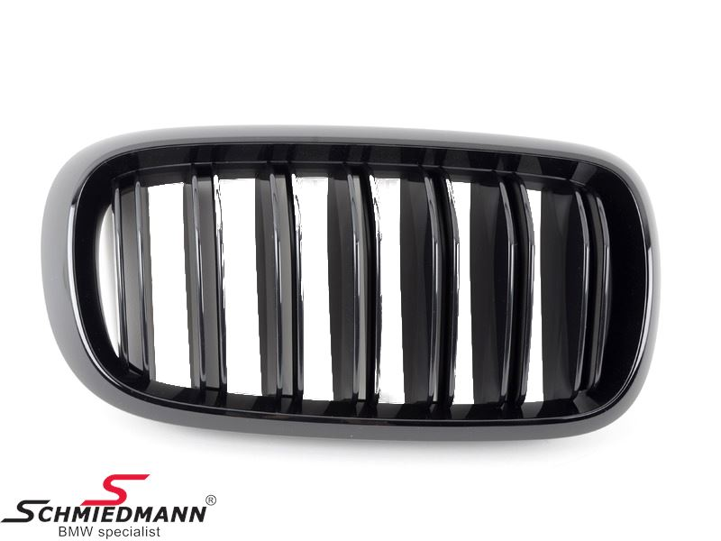 Kidney highgloss black original -BMW M-Performance- R.-side