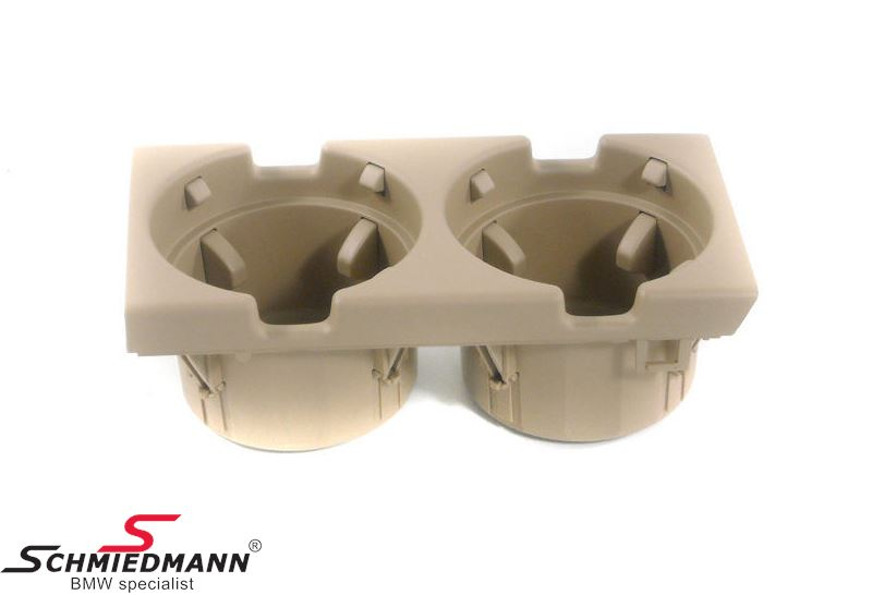 Cupholder for the middle console, beige