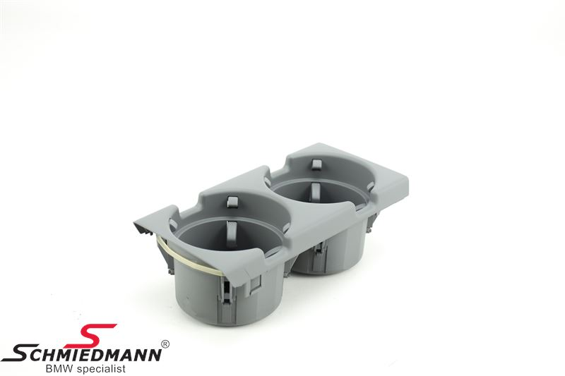 Cupholder for the middle console, grey