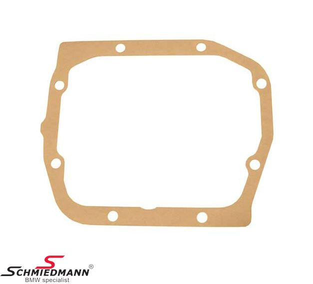 Gasket for rear cover on differential