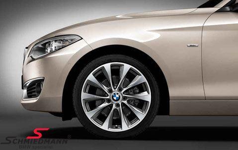 "18"" LM V-speiche 387 Ferricgrey, fælg 8,0X18 ET52 (original BMW passer kun bag)"