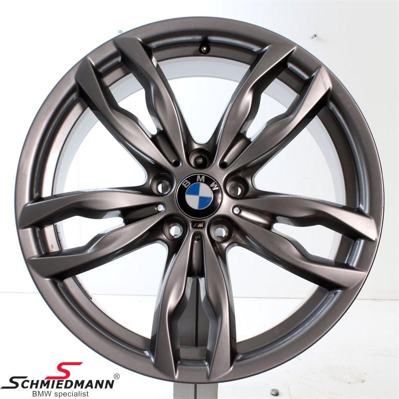 Ultramoderne BMW F18 - Alufælge vinter uden dæk - 20