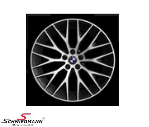 """20"""" Kreuzspeiche 636 Orbitgrey, rim 8,0X20 ET30 (original BMW)"""