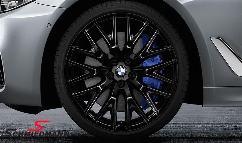 "20"" Kreuzspeiche 636 Liquid black, rim 9,0X20 ET44 (original BMW fits only rear)"