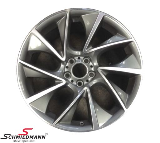 "20"" Turbinenstyling 457 Glanzgedreht, rim 10X20 ET41 (original BMW fits only rear)"
