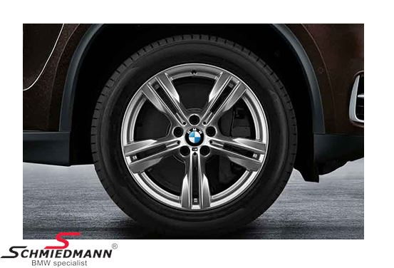 "19"" M-Doppelspeiche 467, rim 10X19 ET21 (original BMW) (fits only rear)"