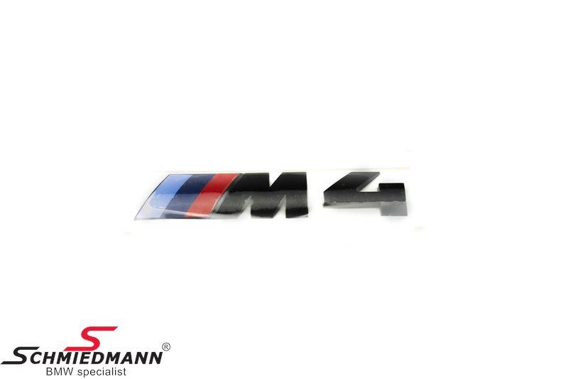 """Emblem trunk lid """"M4"""""""