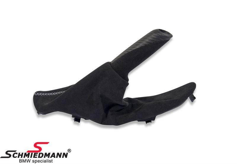 ///M-Performance - käsijarrukahva suojapussilla musta alcantara/hiilikuitu, original BMW