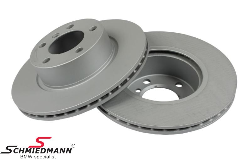Brake disk set 300X22MM ventilated