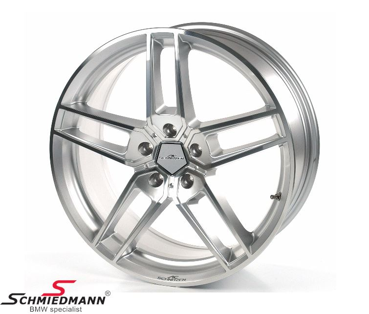 "20"" original -AC Schnitzer type VIII BiColor Silver - rim - 10X20 ET50 (Fits only rear)"