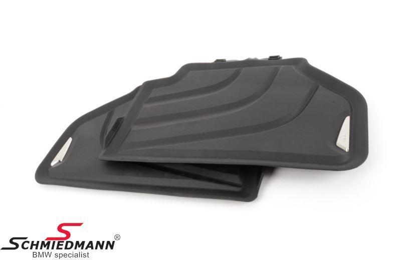 "Floormats ""All weather"" rear, black - original BMW"