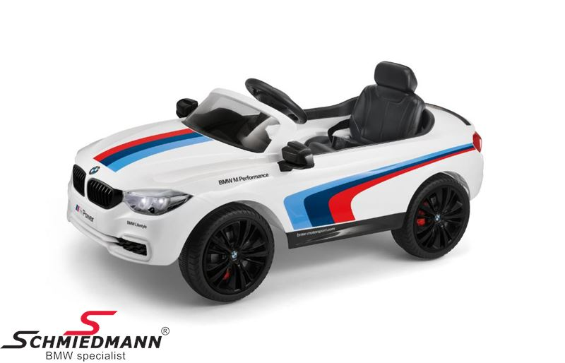 BMW M4 Motorsport RideOn with 12V. electric engine, white