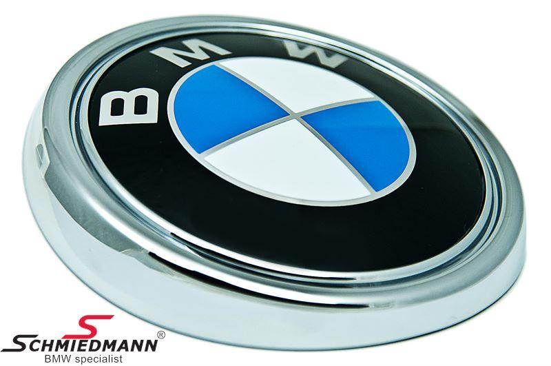 Emblem trunk lid BMW