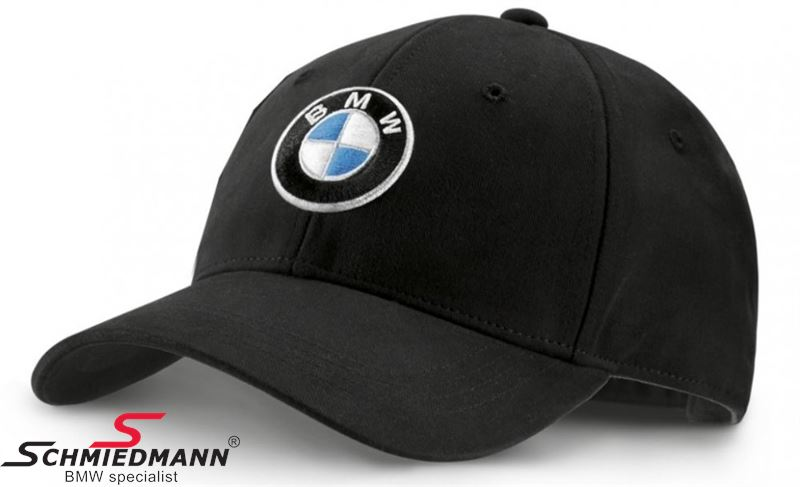 Cap black with BMW logo