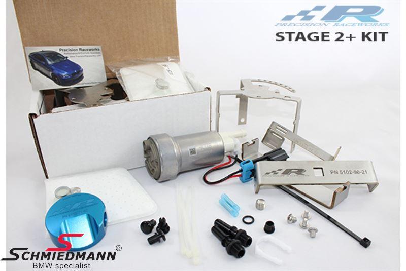 Benzinpumpe stage 2+ upgrade kit - op til 600HK