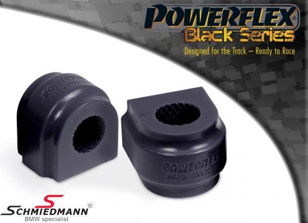 Powerflex racing -Black Series- Stabilisator Gummilager-Satz vorne 25MM (Diagram ref. 3) PFF5-1903-25BLK