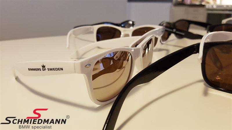 Bimmers of Sweden solglasögon 2-pack (ett par vita och ett par svarta)