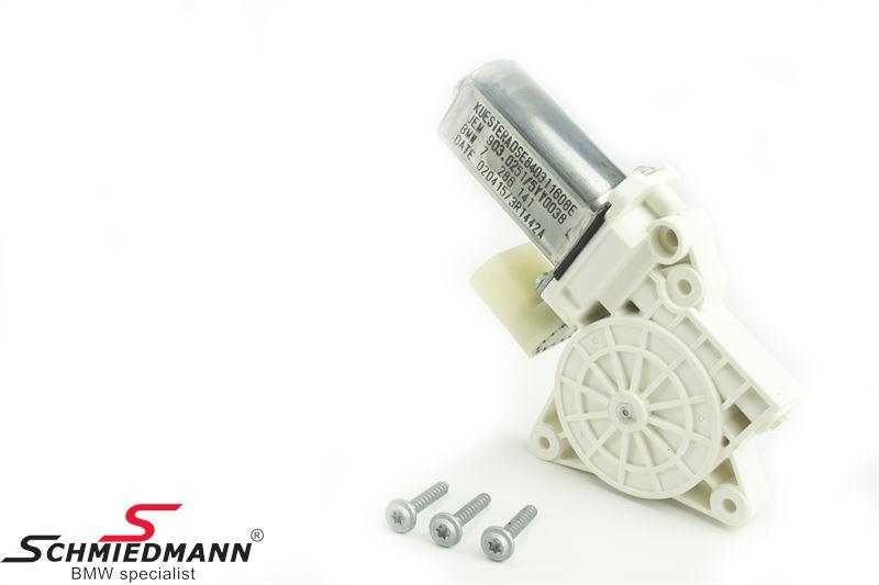 El-rude motor for V.-side
