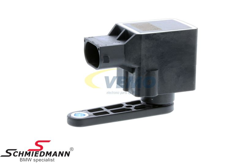 Level sensor (rear) for automatic adjustment of xenon light
