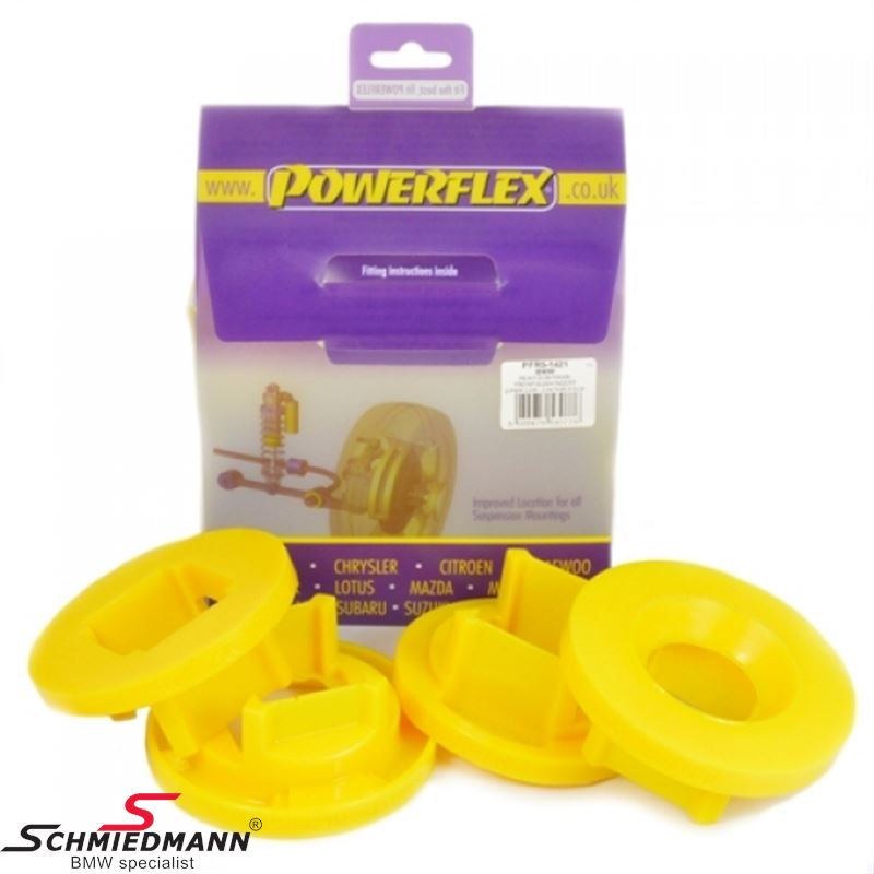 Powerflex racing bak beam outer fram  inserts set (only inserts) (Position 21 on diagram)