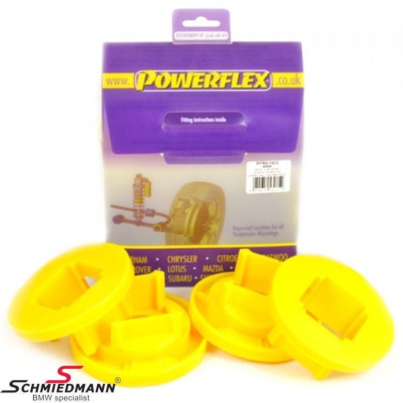 Powerflex racing rear beam outer rear inserts set (only inserts) (Position 23 on diagram)
