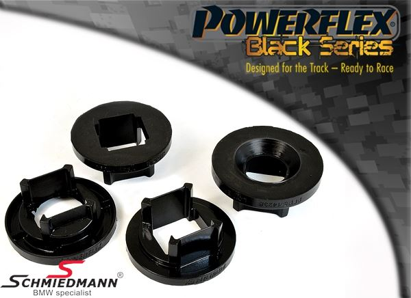 Powerflex racing -Black Series- rear beam outer rear inserts set (only inserts) (Position 21 on diagram)