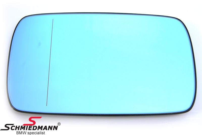 Seitenspiegelglas Weitwinkel getönt, beheizt links / rechts