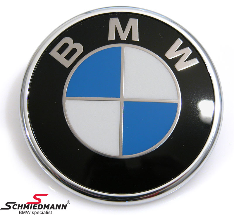 bmw e46 emblem schmiedmann nya delar. Black Bedroom Furniture Sets. Home Design Ideas