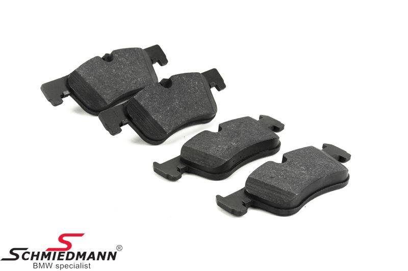 Brake pads front - original Hella-Pagid Germany