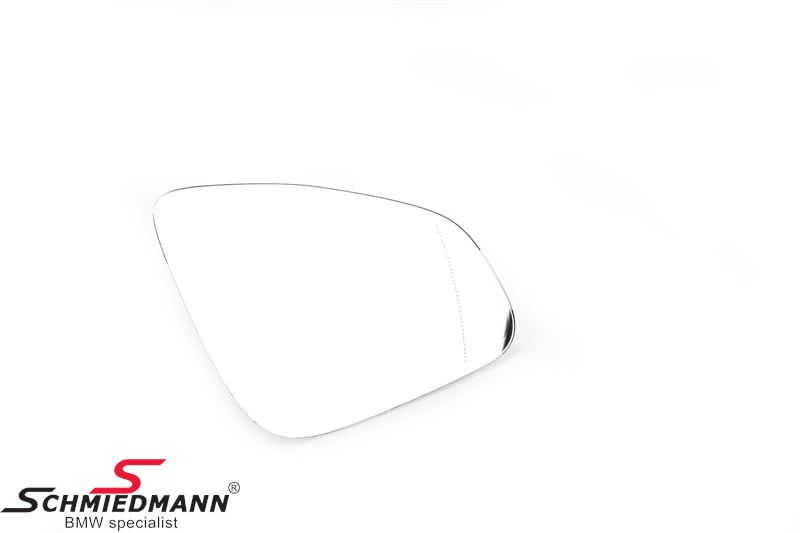 Side-view mirror glass M-technik wide-angle tinted/heated R.-side