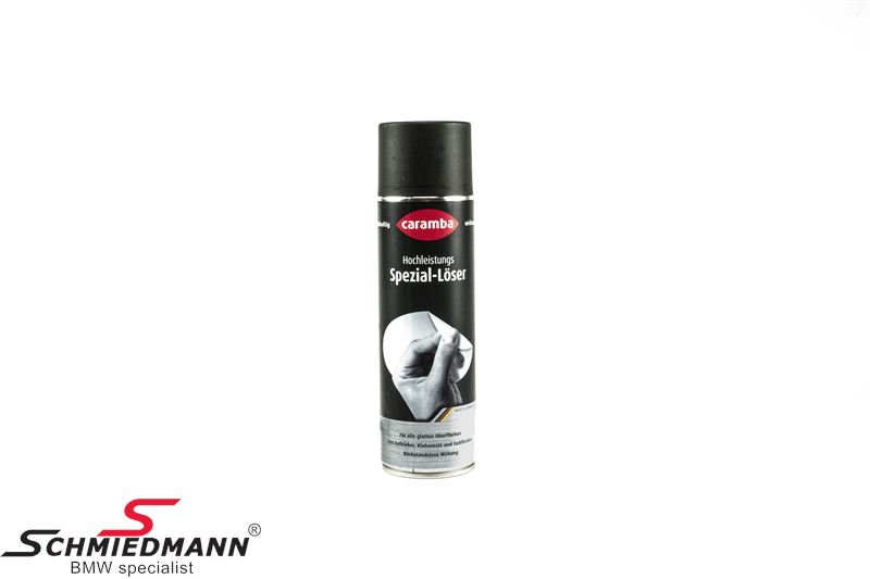 Streamer/klistermærke-fjerner spray Caramba 500ML