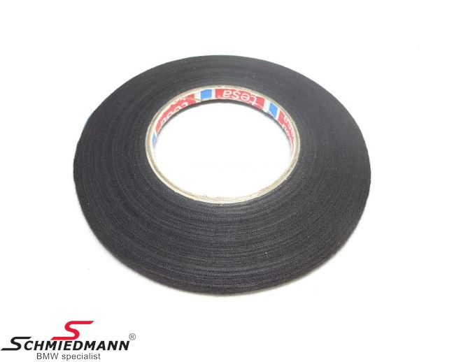 Wrapping tape for cable/harness repairs W-9MM 50 meters per roll - original BMW (Sold only in full rolls of 50 meters = order 50 pcs.)